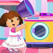 Dora Laundry Cleaning Time