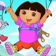 Dora Parachuting
