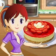 Berry Cheesecake: Sara\'s Cooking Class