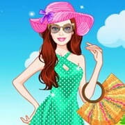Barbie Summer Break Dress Up
